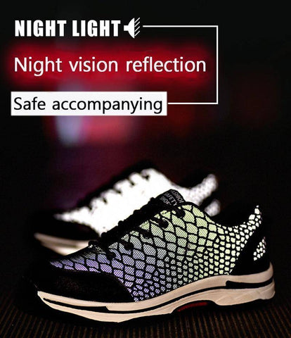Air Mesh Breathable Safety Shoes