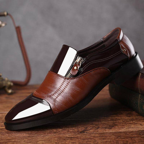 Leather Vintage Business Dress Shoe