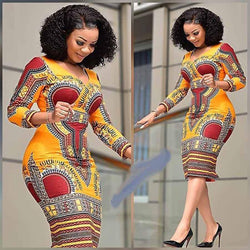 New Women African Casual Dress