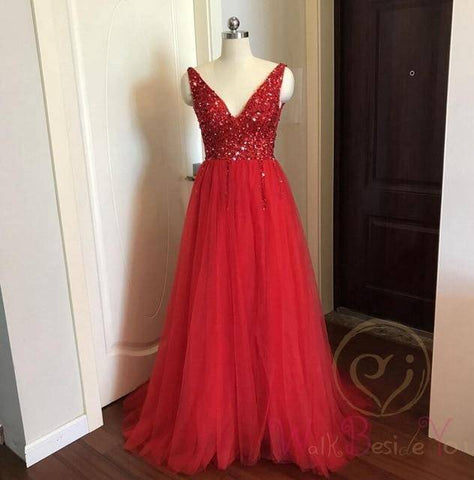 Beading Evening Gown Dress