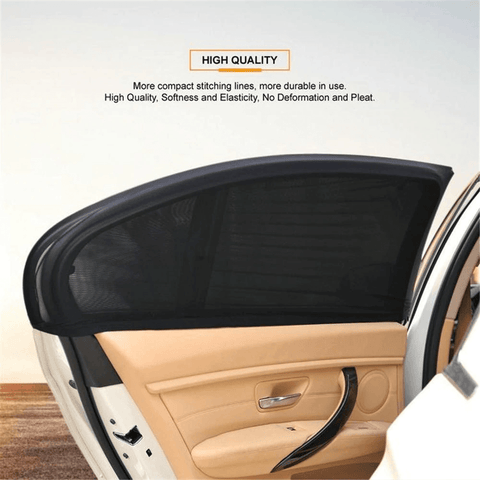 Image of 2 Pcs Car Window Cover