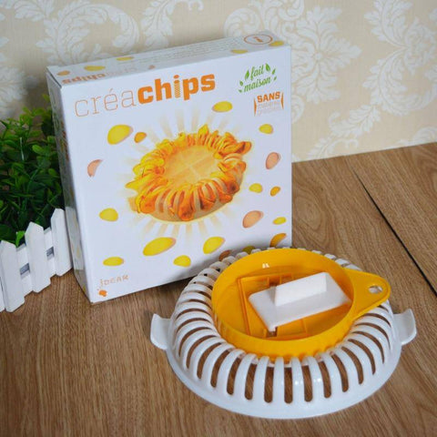 Image of Microwave & Oven Baked Potato Chips Maker