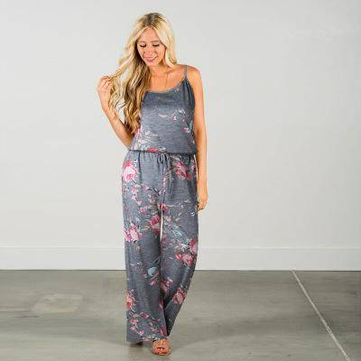 Floral Jumpsuit Fashion Trend