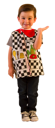 Toddler Cook Dress-up Costume Age 2-4