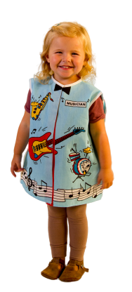 Toddler Musician Dress-up Costume Age 2-4