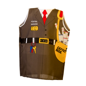 Postal Worker Costume Front