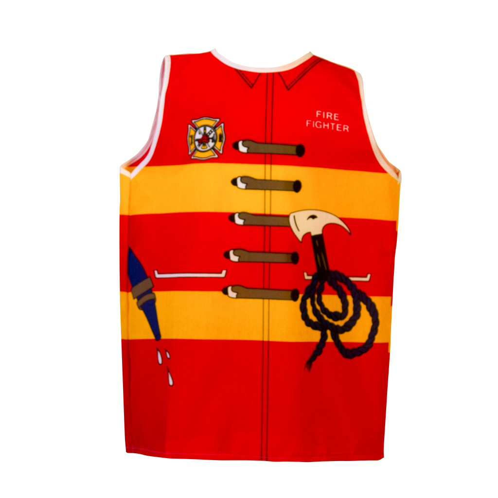 Firefighter Costume Front