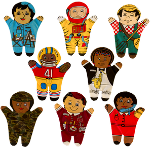 Career Group (Multicultural) Set of 8 Puppets
