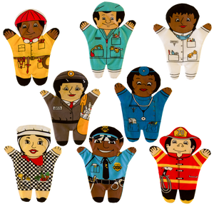 Medical Community Group (Multicultural) Puppets Front