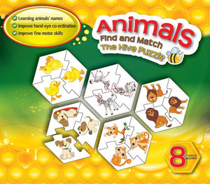 Hive ANIMAL Puzzle Sets