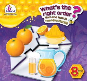 Hive WHAT'S THE RIGHT ORDER Eight Puzzle Set