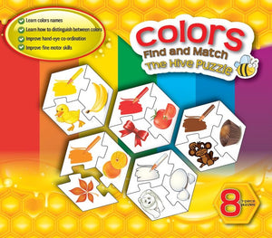 Hive COLORS 8 Puzzle Set