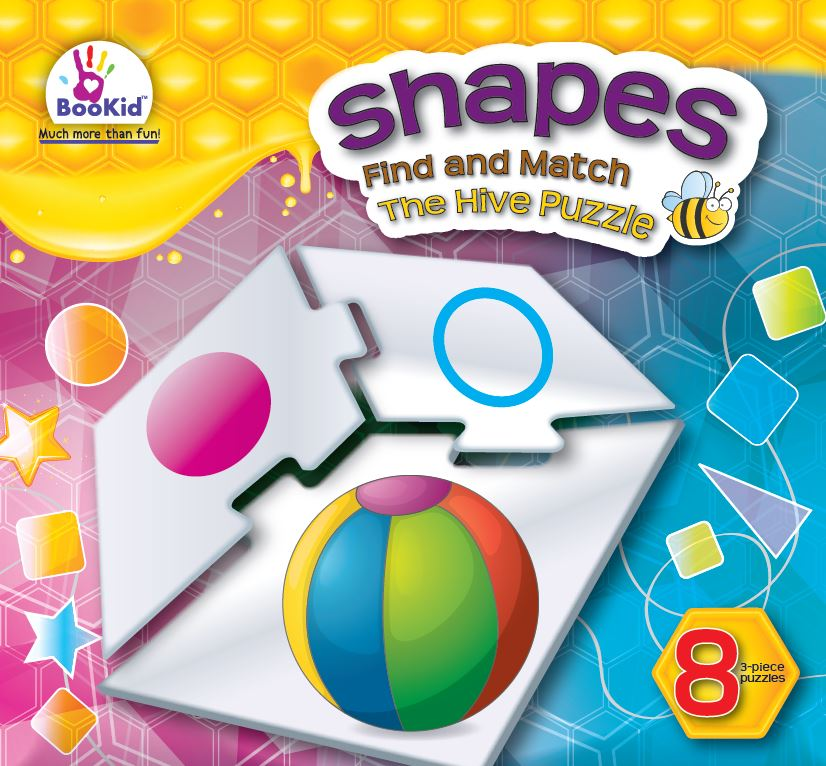 Hives SHAPES Eight Puzzle Set