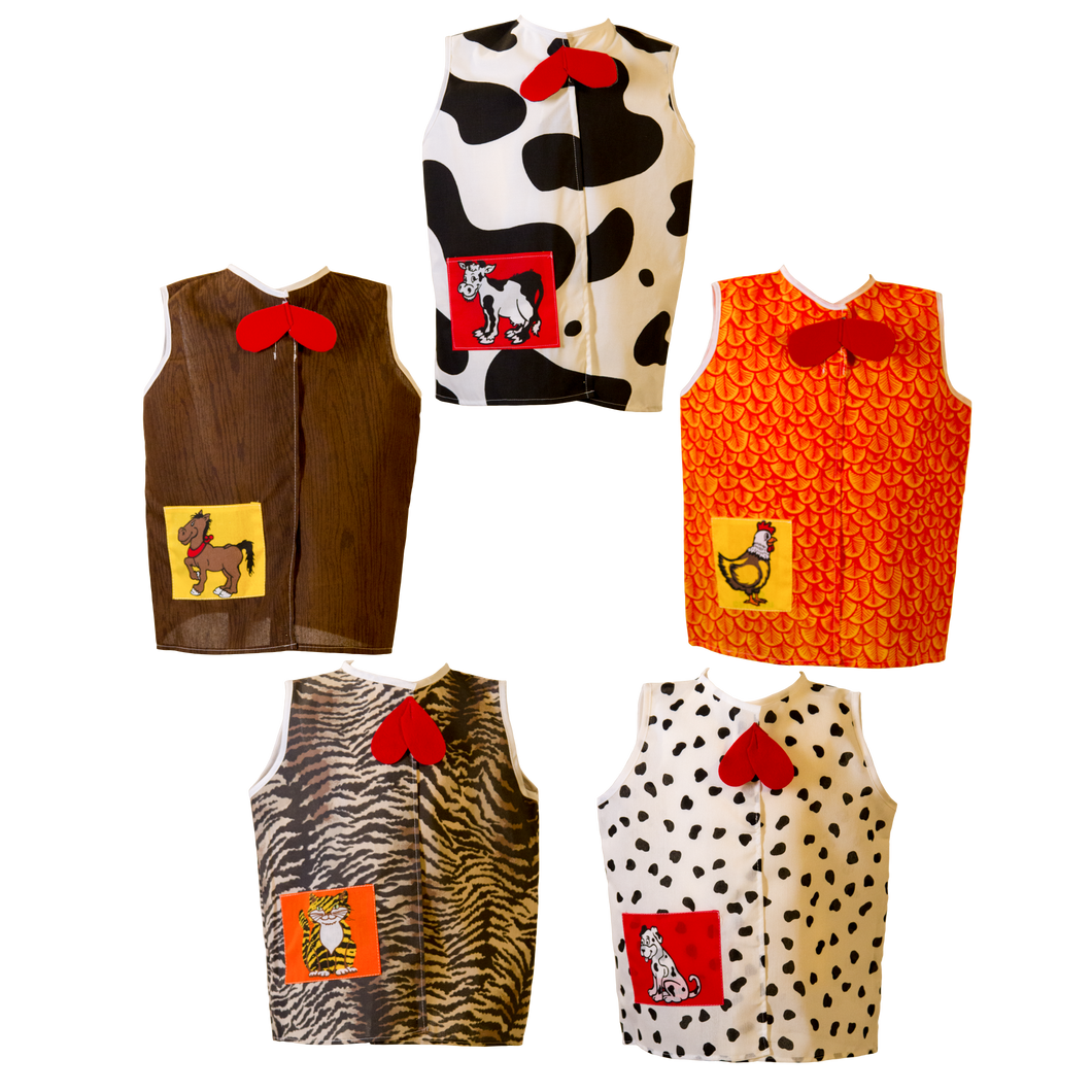 Toddler Animal Costume Pack