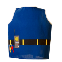 Toddler Police Costume Back