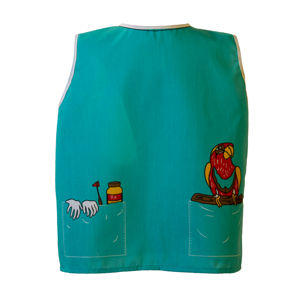 Toddler Veterinarian Costume Back