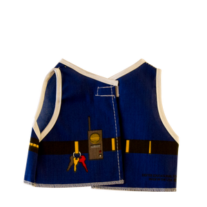 Toy Police Costume Back