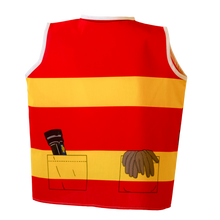 Toddler Firefighter Costume Back
