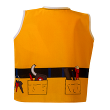 Toddler Construction Worker Costume Back