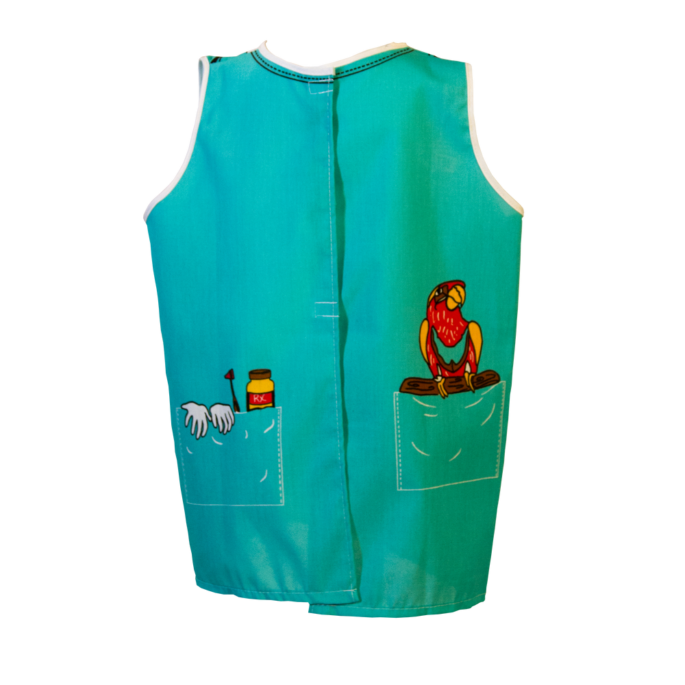 Veterinarian Costume Back