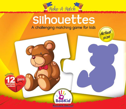 Make a Match- SILHOUETTES Matching Game with 12 Pairs