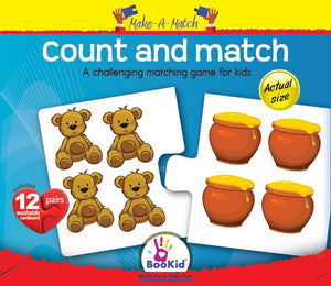 Make a Match COUNT & MATCH Game with 12 Pairs