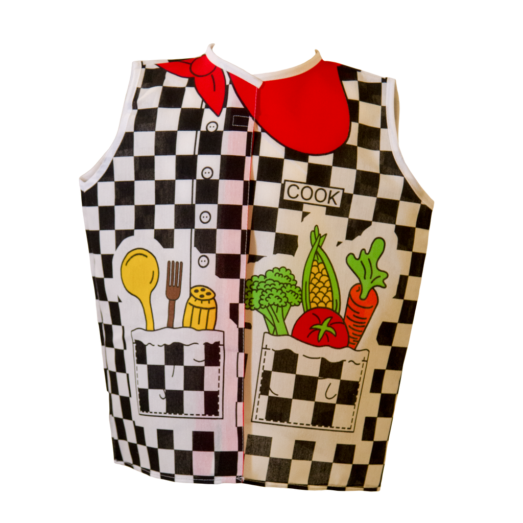 Toddler Cook Costume Front