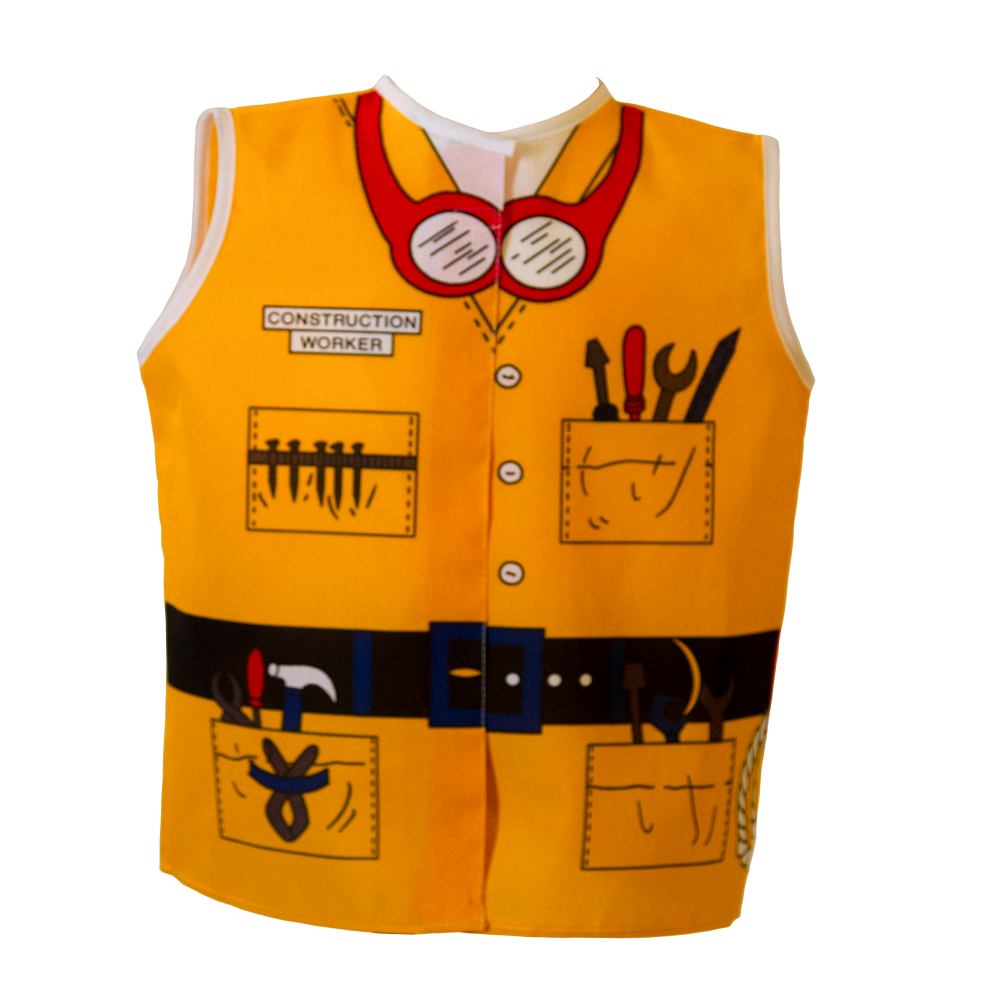 Construction Worker Costume Front
