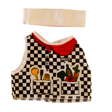Toy Chef Costume Front and Headband