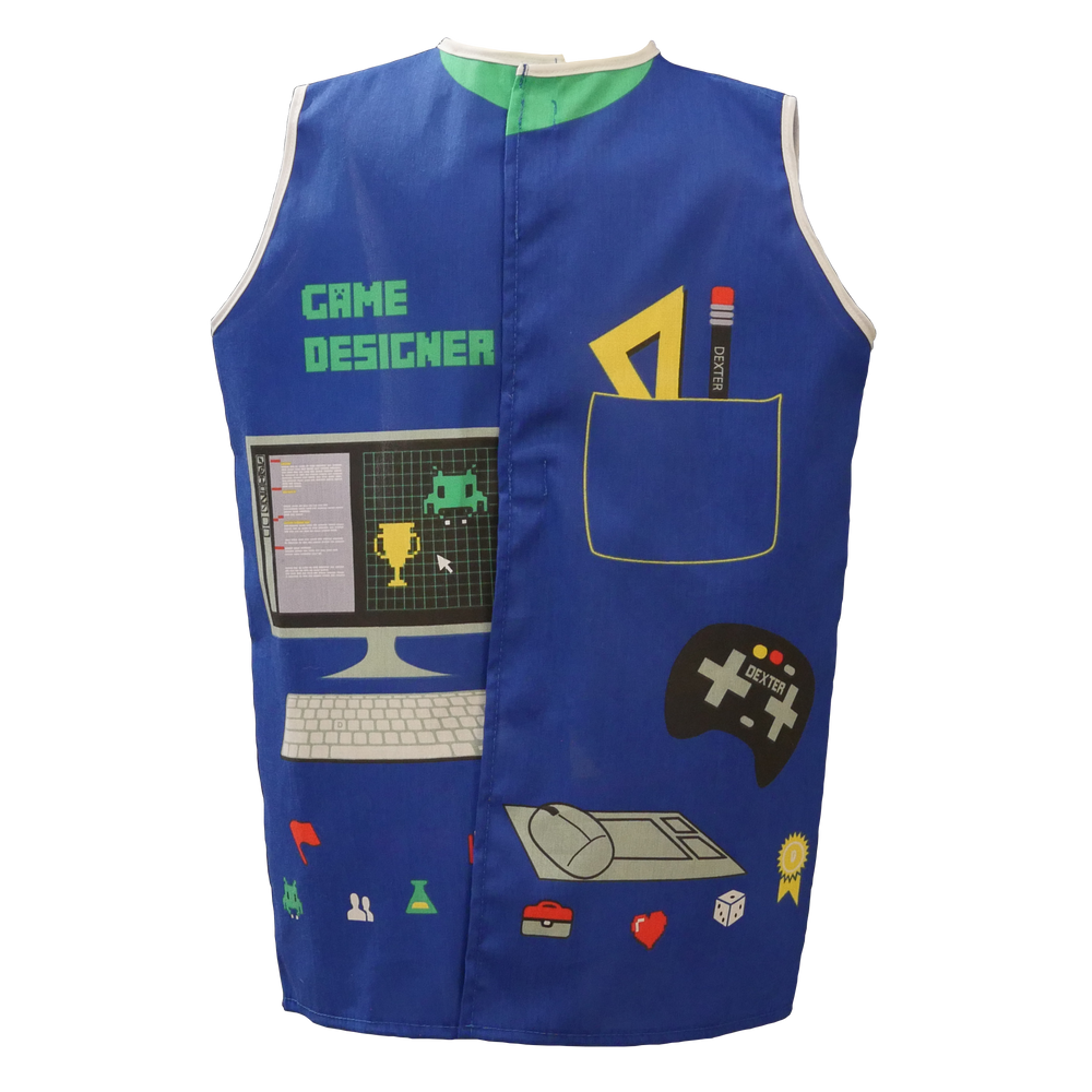 Video Game Designer Dress-up Costume Age 4-7