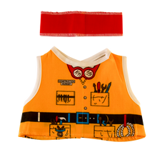 Toy Construction Costume Front and Headband