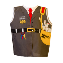 Toddler Postal Worker Costume Front