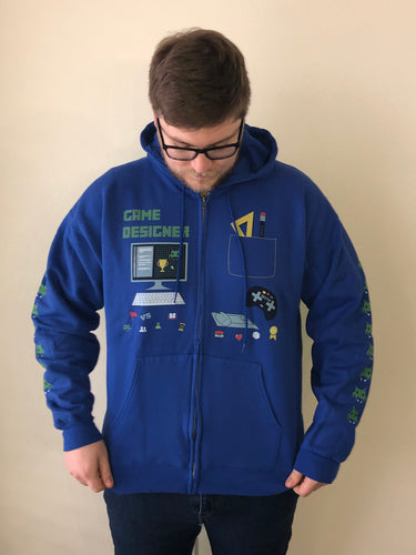 Adult Video Game Designer Hoodie