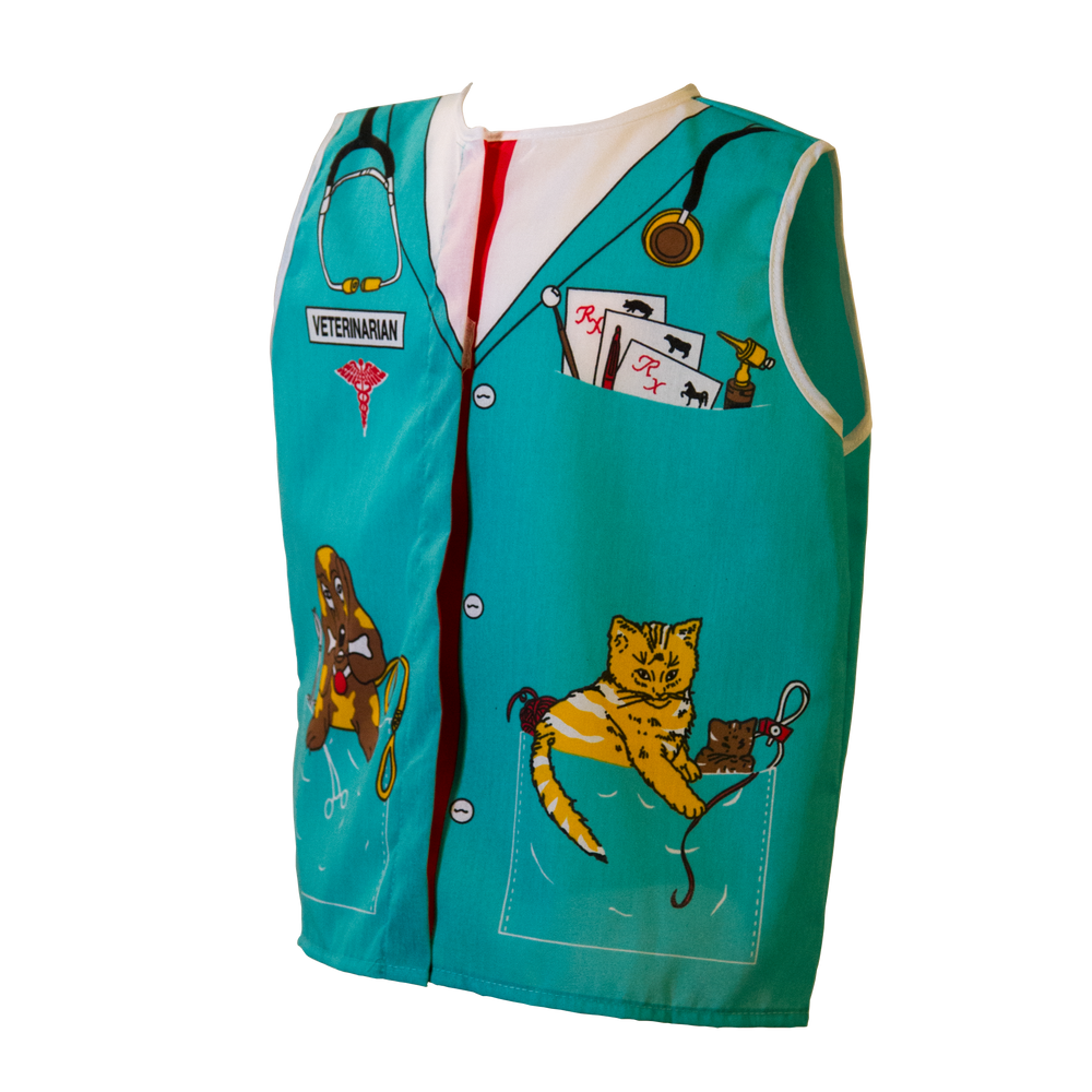 Toddler Veterinarian Costume Left Side