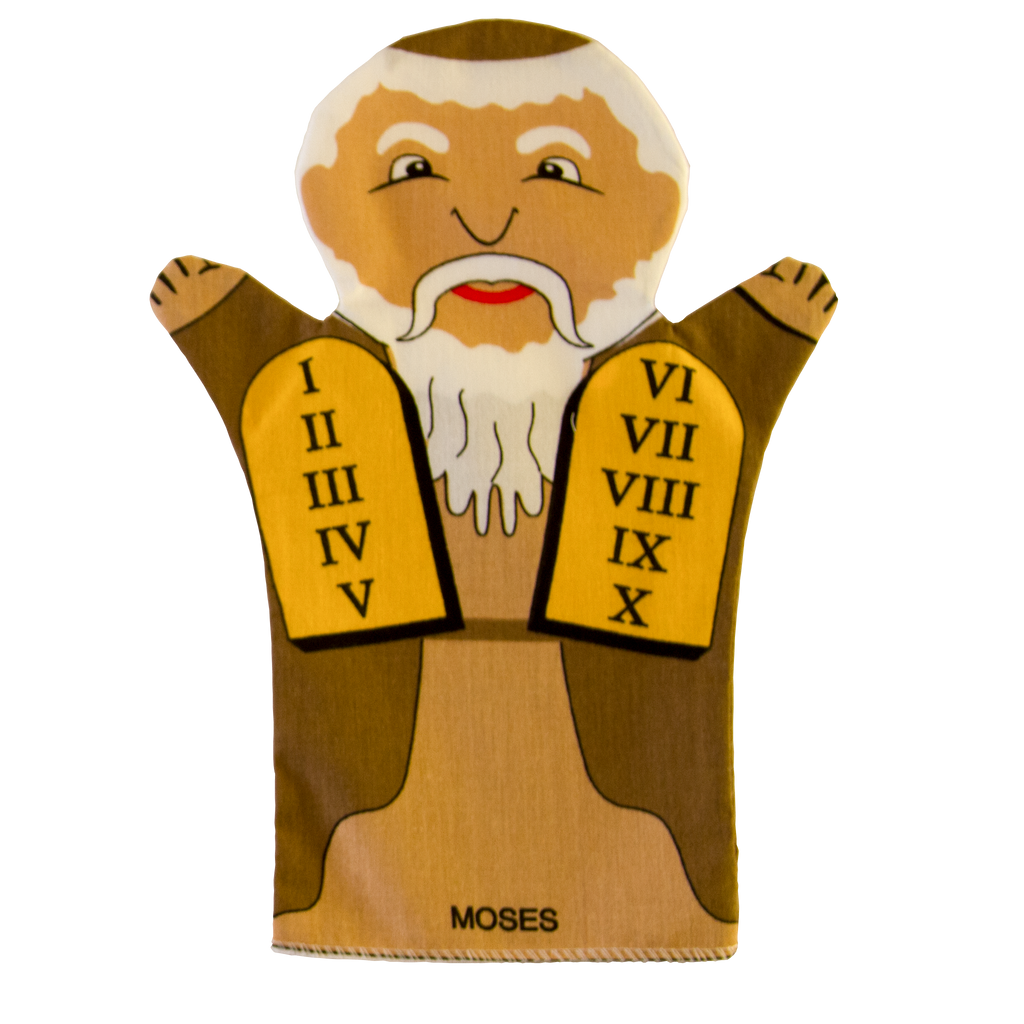 Moses Puppet Front