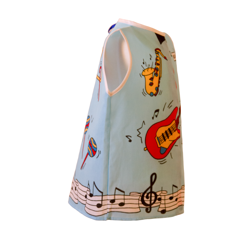 Toddler Musician Costume Right Side