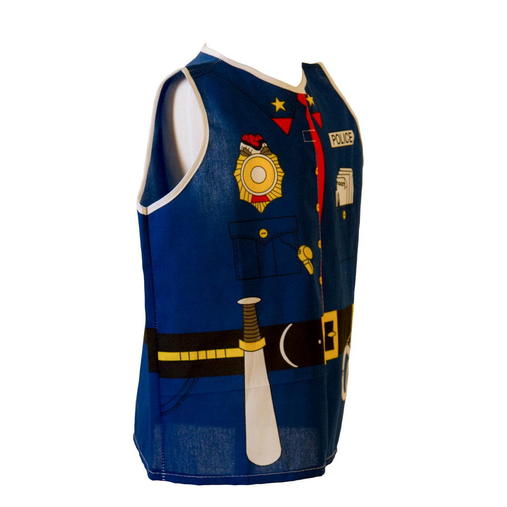 Toddler Police Costume Right Side