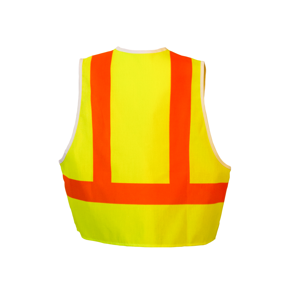Safety Vest Costume Back