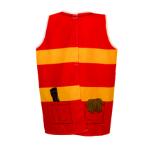 Firefighter Costume Back