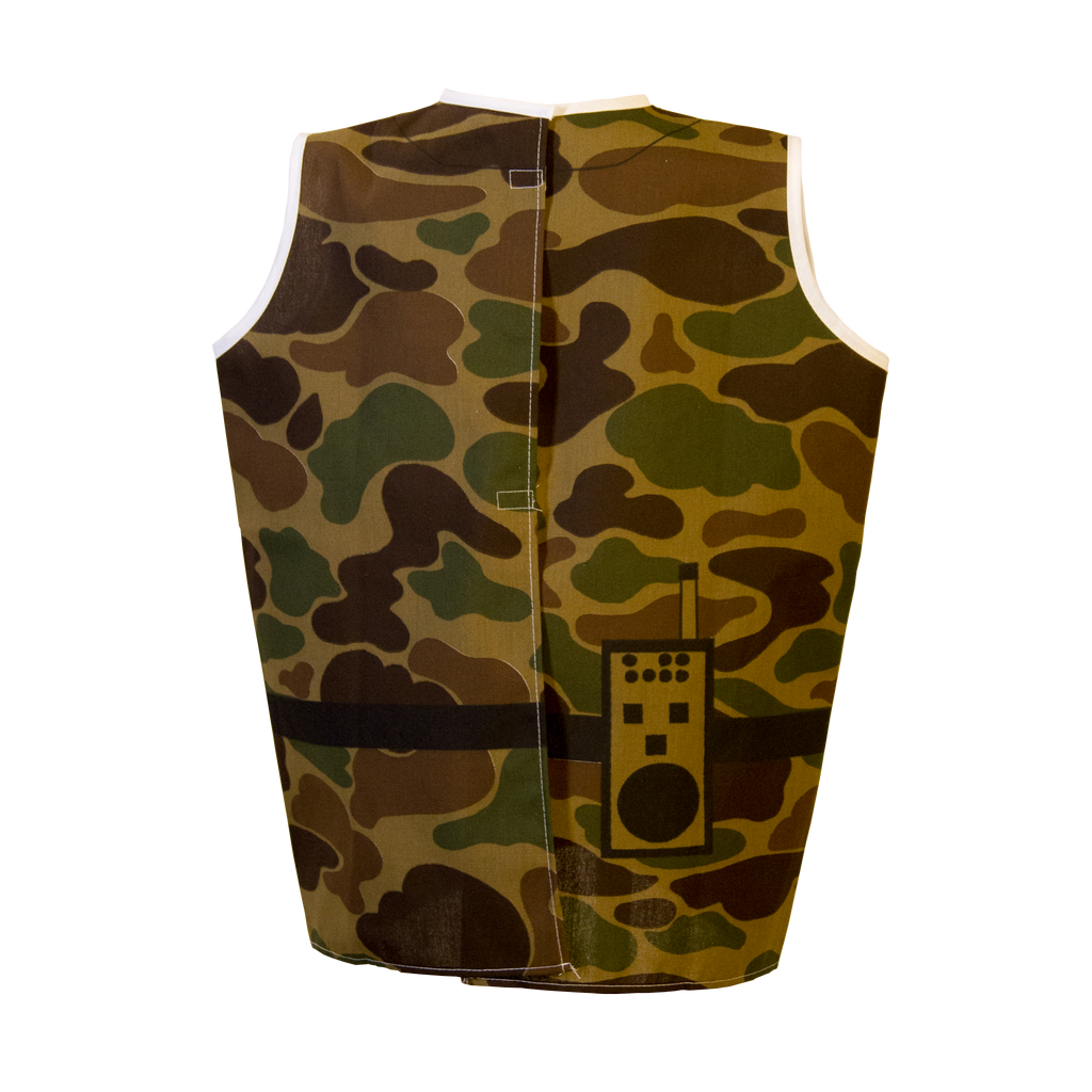 Soldier Costume Back