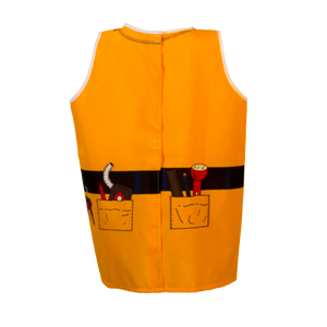 Construction Worker Costume Back