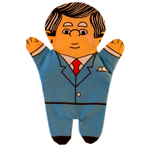 Businessman Hand Puppet Front
