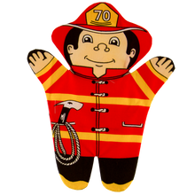 Firefighter Puppet Front