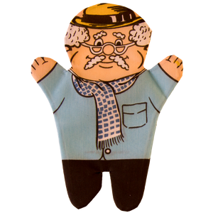 Grandfather Hand Puppet Front