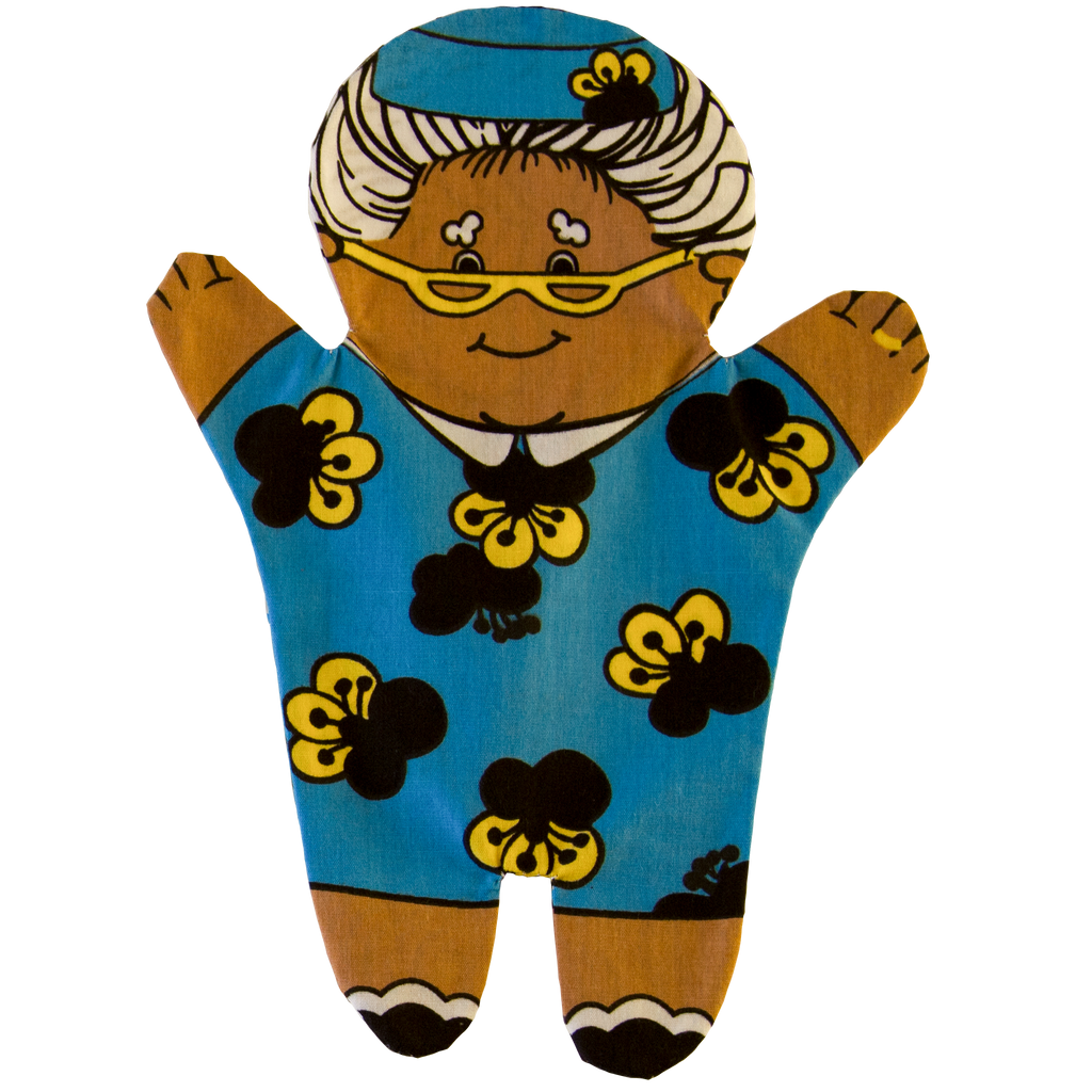 Grandmother Hand Puppet Front