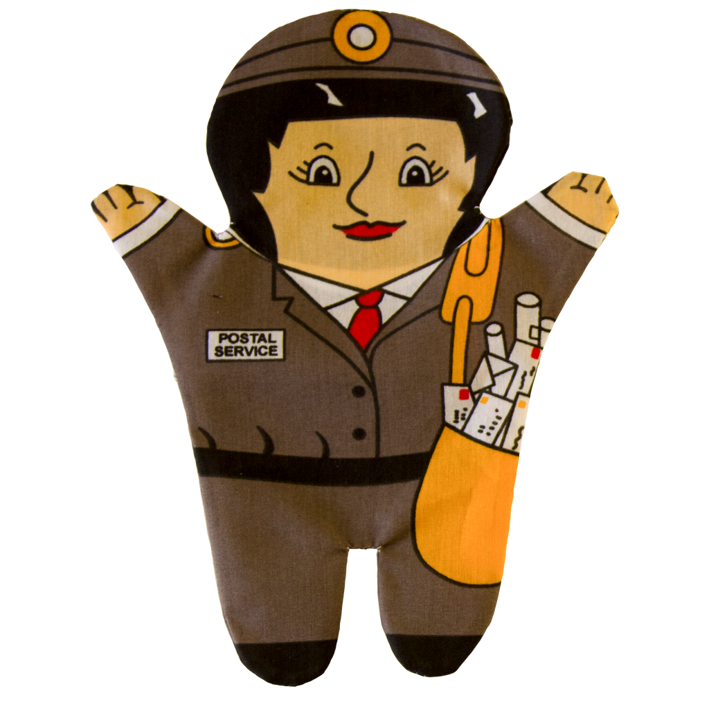 Postal Worker Puppet Front