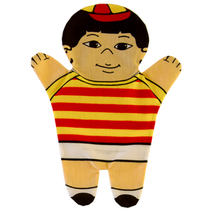 Little Boy Hand Puppet Front