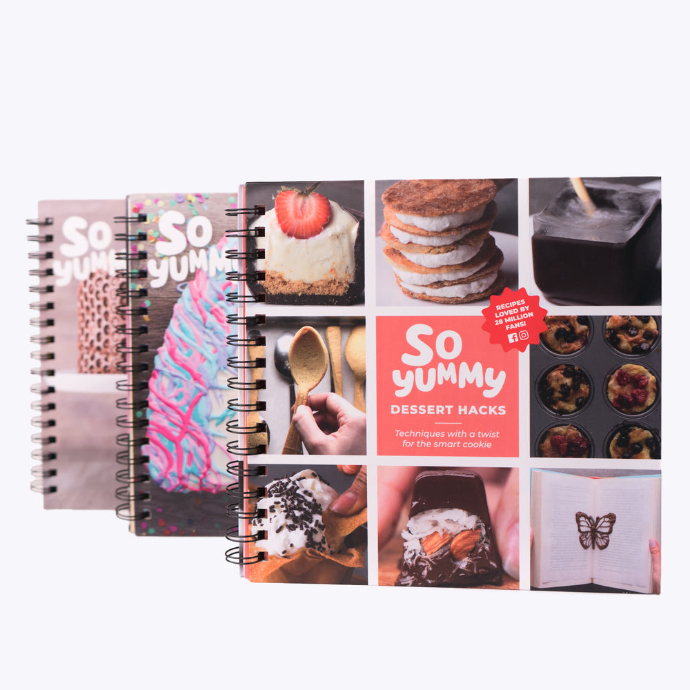 So Yummy Dessert Cookbook Bundle, Set of 3