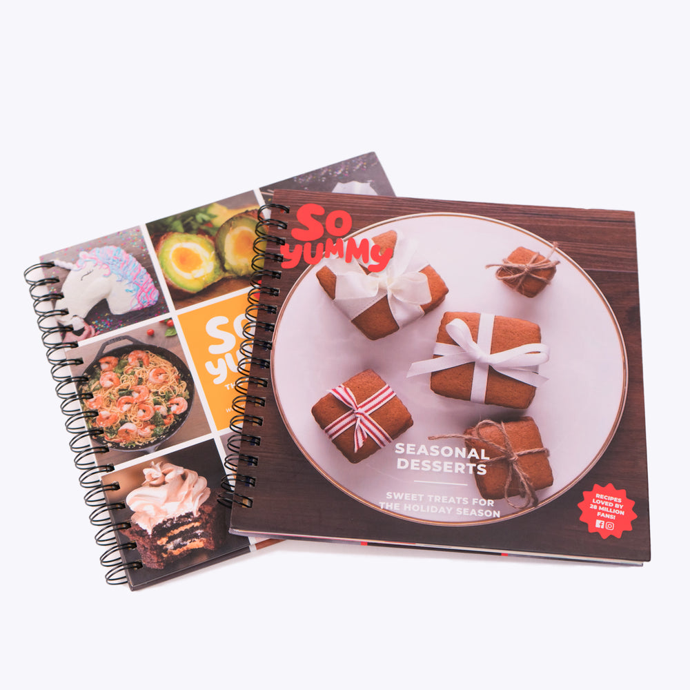 So Yummy Classic Cookbook Bundle, Set of 2