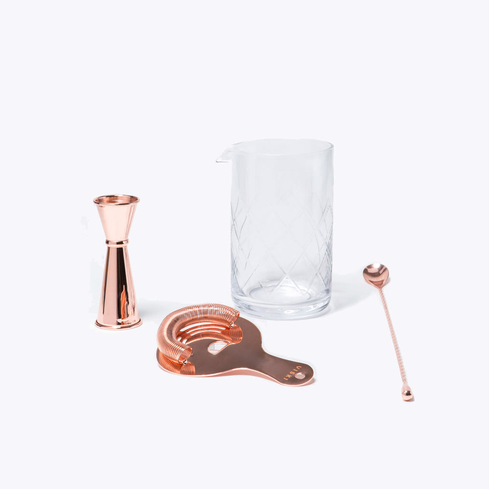 Copper Mixologist Set
